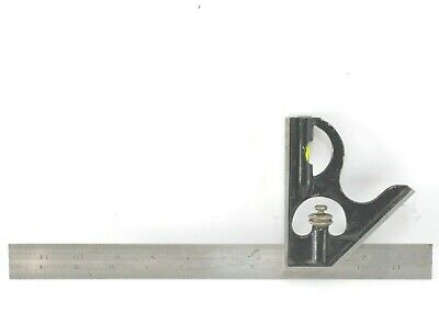 Moore Wright Combination Square Hardened 12 Scale A Graduation 18163264