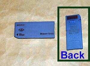 Genuine Original Sony MS Memory Stick Memory Stick PRO Duo Card Baulkham Hills The Hills District Preview