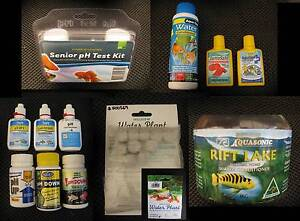 Aquarium / Fish Tank Chemicals PH Up Down Test Solution Water Forrestdale Armadale Area Preview