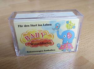 BabyWunschKarten - das etwas andere Gäste