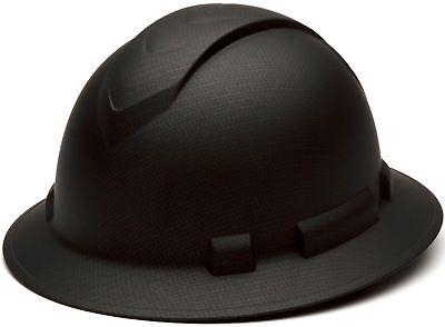 Ridgeline Full Brim 4 Pt Ratchet Suspension Hard Hat By Pyramex Safety