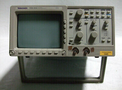 Tektronix Tds 410 150mhz 100mss Oscilloscope Two Channel