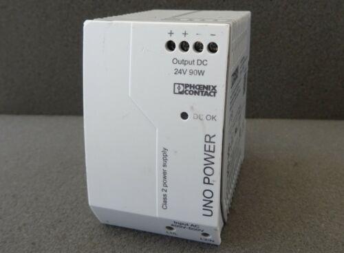 Stromversorgung PHOENIX UNO-PS/2AC/24DC/90W/C2LPS Power Supply 2904371 24V 90W