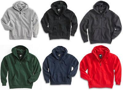 men s heavyweight hooded sweatshirt full zip