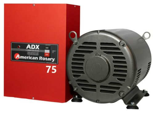 LIMITED EDITION Extreme Duty American Rotary Phase Converter ADX75 75HP 1 to 3Ph