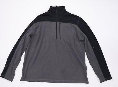 Mountain Warehouse Mens Grey  Fleece Jacket Coat Size 2XL