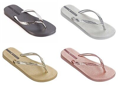 Ipanema Glam Sandal 21 Flipflops In Gold Graphite Rose Silver £22.99 Now £14.99