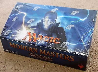 MAGIC THE GATHERING MODERN MASTERS 2017 1/4 BOOSTER BOX = 6 BOOSTER PACKS SEALED