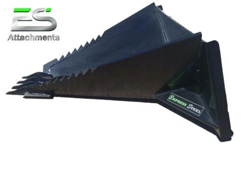ES Stump Bucket - LOCAL PICK UP - skid steer quick attach stump removal bucket