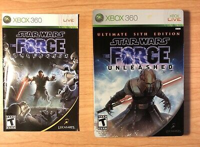 Star Wars:The Force Unleashed Ult. Sith Edition (XBOX 360 complete FREE SHIP!)