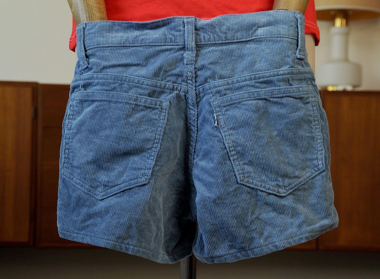 levis damen hose shorts hot pants blau 80er true vintage 80 s blue women kurz eur 25 74. Black Bedroom Furniture Sets. Home Design Ideas