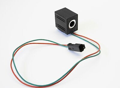 Parker 853077 Solenoid Coil With Diode 12v 20w 58 S1olwdr Genuine Oem New