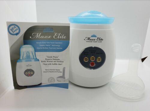MAXX ELITE Gentle Warm Smart Bottle Warmer & Sterilizer