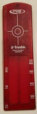 Trimble Spectra Large Pipe Target Insert