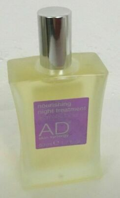 AD Skin Synergy Nourishing Night Treatment Aromatic Facial Oil 50ml Brand New