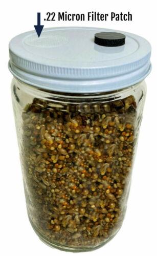 Sterilized Premium 5-Grain 32oz Mushroom Spawn Jar