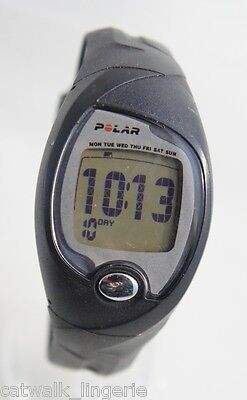 Polar Men's FS3 Black Digital Heart Rate Monitor Watch Strap No Chest Strap
