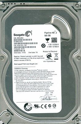 Seagate Pipeline Hd 2 500Gb 5900Rpm Sataii 3Gbps St3500312cs W Data Cable Tested