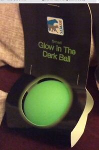 Glow in The Dark Dog Ball Green Dog Toys UK Seller Small 🐶
