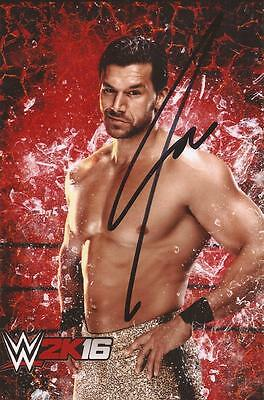 WWE WRESTLING: FANDANGO SIGNED 6x4 PORTRAIT PHOTO+COA