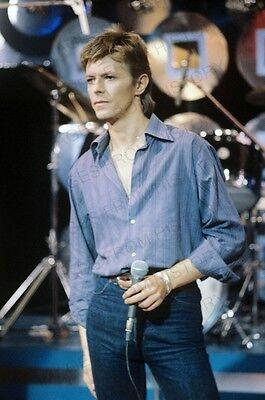 8x10 Print David Bowie 1977 #69