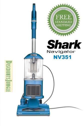 Shark NV351 Navigator Lift-Away Upright Vacuum Healthy Home Edition Blue