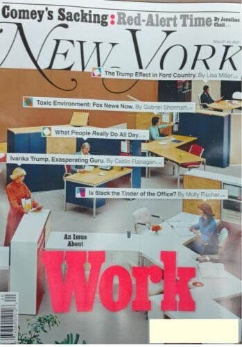 NEW YORK  MAGAZINE MAY 15-28 2017 WORK AN ISSUE ALL ABOUT WORK DAY U PAY SHIPS