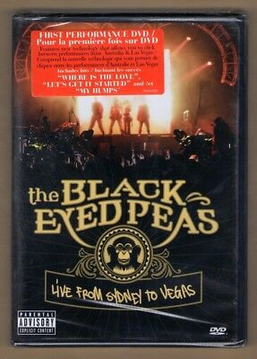 THE BLACK EYED PEAS new dvd LIVE FROM SYDNEY TO LAS VEGAS  ()