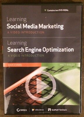 Learning Social Media Marketing Learning Search Engine Optimization  Dvd