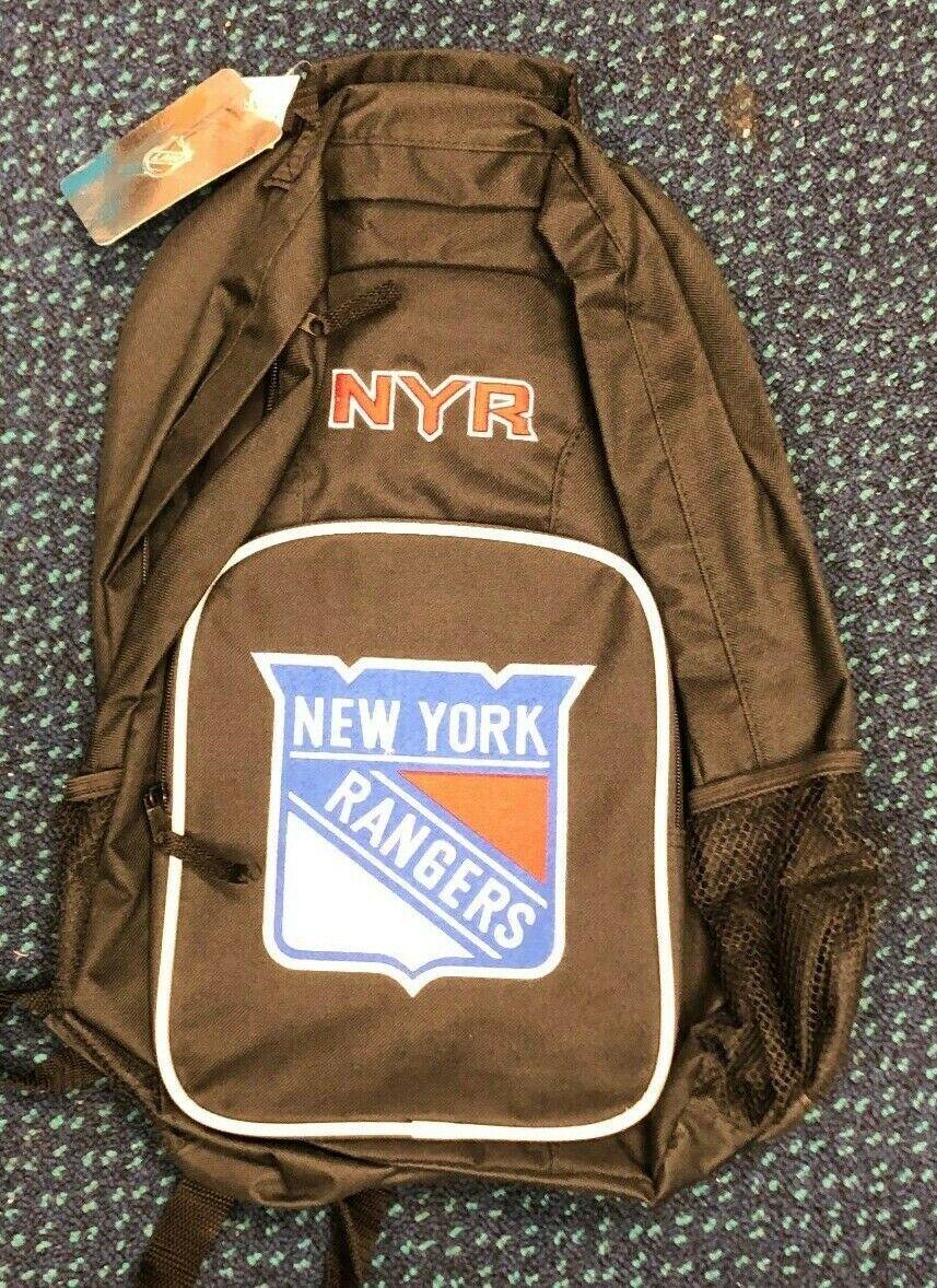 NHL New York Rangers Backpack Bag NEW