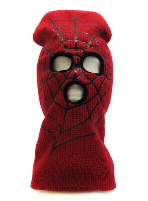 Spiderman Kid Beanie Face Mask Ski Mask Halloween Costume Accessories - Spiderman Masks