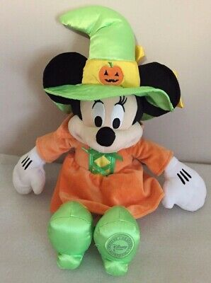 Halloween Minnie Mouse Witch Hat (Disney Minnie Mouse Halloween Witch 15