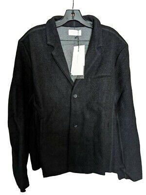 john Elliott Richmond Jacket USA MADE Wool Black Season Eight size 4 NEW NWT XL