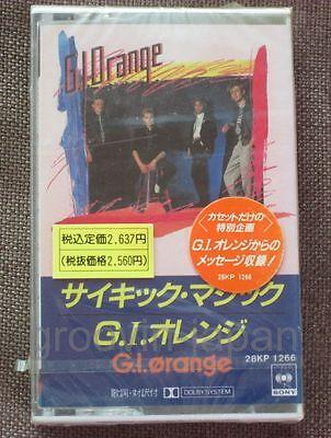 Sealed! G.I.ORANGE G.I.Orange JAPAN CASSETTE w/Cassette-Only Messages 28KP1266