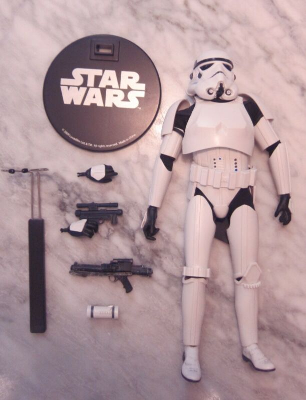 Sideshow Exclusive Stormtrooper 1/6 Scale Figure open/complete
