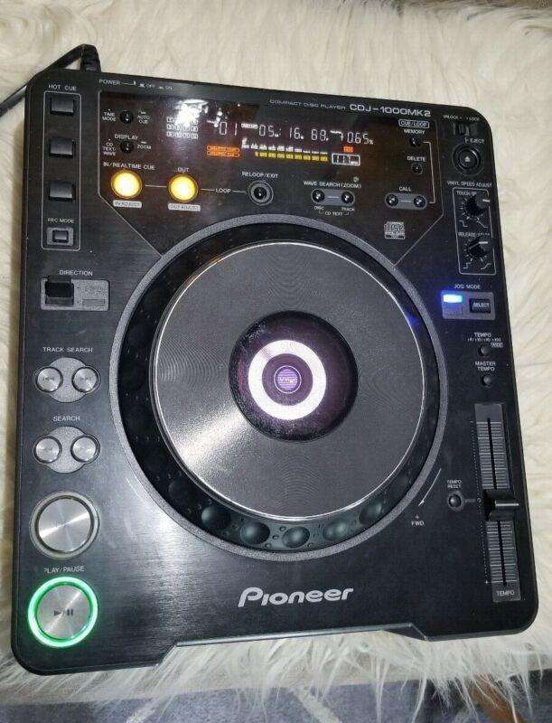 Pioneer CDJ-1000MK2 Digital Compact Disc Player Deck - Works Great!