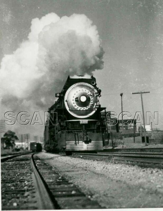 0A845 2NDGEN RP 1940s/80s SOUTHERN PACIFIC RAILROAD LOCO #4465 OAKLAND