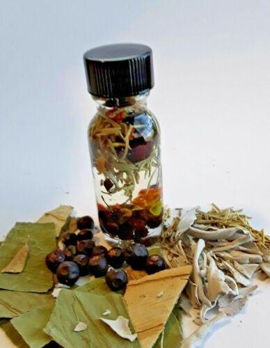 Remove Psychic Attacks Hexes Curses Protection Oil Hoodoo Conjure Oil Santeria
