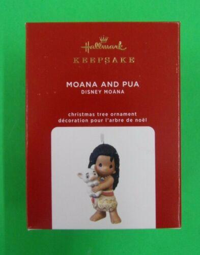 Moana & Pua - Disney - 2020 Hallmark Keepsake Ornament - BRAND NEW