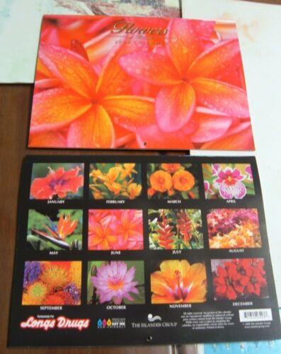 HAWAII 2022 BEAUTIFUL FLOWERS of HAWAII DESK/WALL 12 MONTH CALENDAR