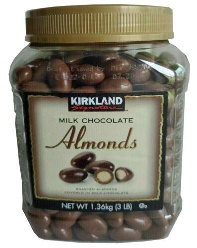 🔥 Kirkland Signature Milk Chocolate Covered Almond 3Lb 🔥