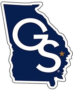 GEORGIA SOUTHERN EAGLES, PREMIUM DIE-CUT VINYL DECAL GS State Licensed NCAA