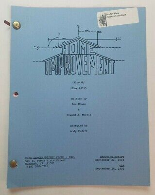 HOME IMPROVEMENT / Rosalind Moore & Howard J. Morris, 1993 TV Script