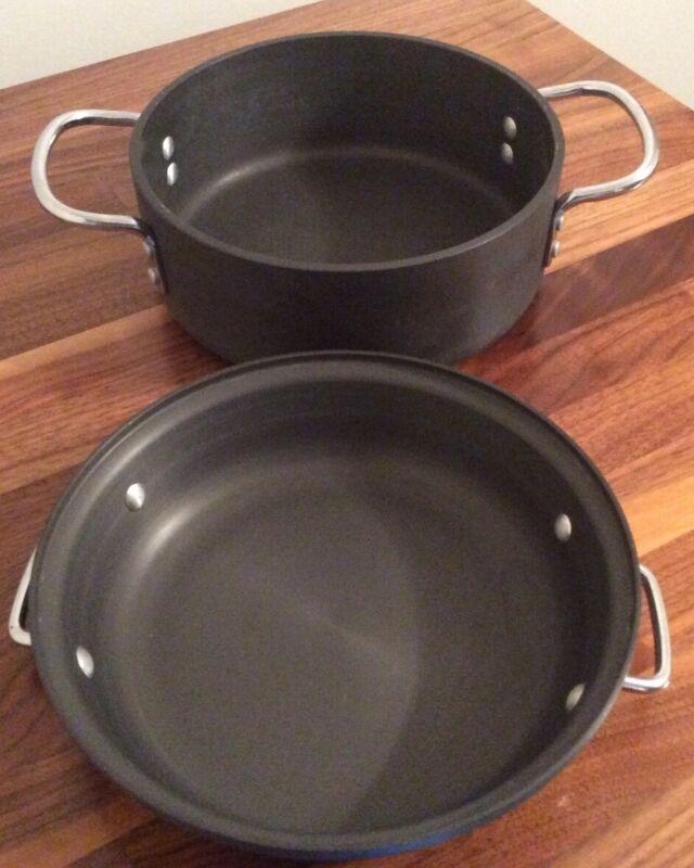 Commercial Aluminum Cookware Company Dutch Oven 2.5 Quarts 8782 1/2 W/lid C301