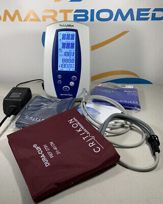Welch Allyn 420 Series Spot Vital Signs Monitor 420ob Nibp Waccessories-tested