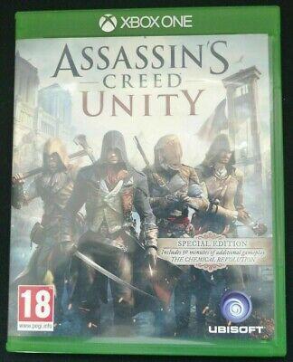Assassins Creed Unity - Special Edition XBox One Excellent Condition UK PAL segunda mano  Embacar hacia Spain