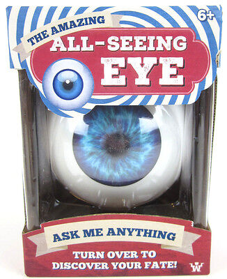 All Seeing Eye Toy Fortune Teller Classic Ten Answers Toy Eyeball Magic 8 Ball