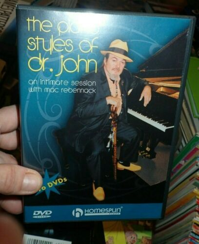 Dr. John The Piano Style of Dr. John 2 DVD Homespun video sheet music booklet