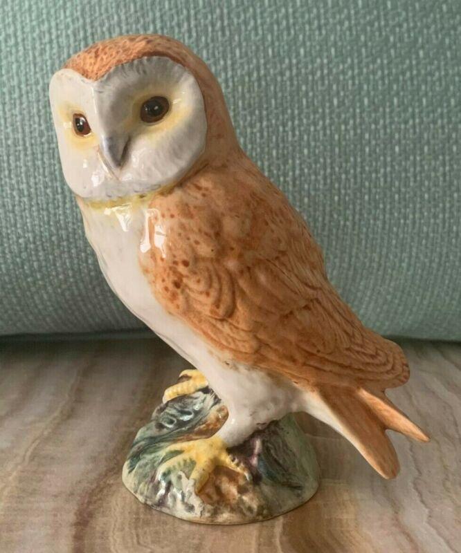 Adorable Beswick Owl Figurine