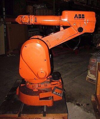 Abb Robotics Irb2000-4810 Handling Robot Arm W Ac Servo Motor Xlnt